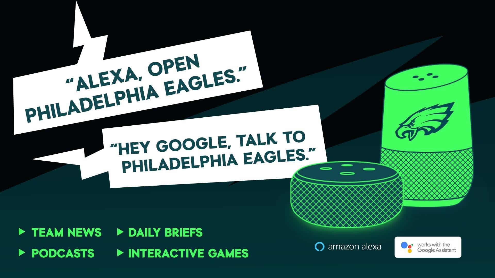 Philadelphia Eagles Voice Assistant