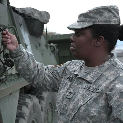United States Army National Guard Keshina Bouie
