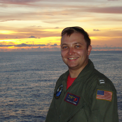 Lieutenant Commander US Navy Chris Napierkowski