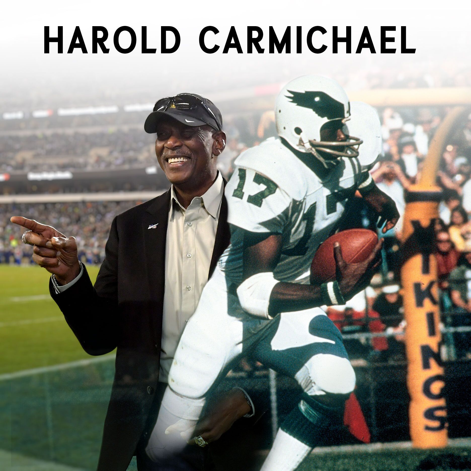 Harold Carmichael's incredible journey to the Pro Football Hall of Fame
