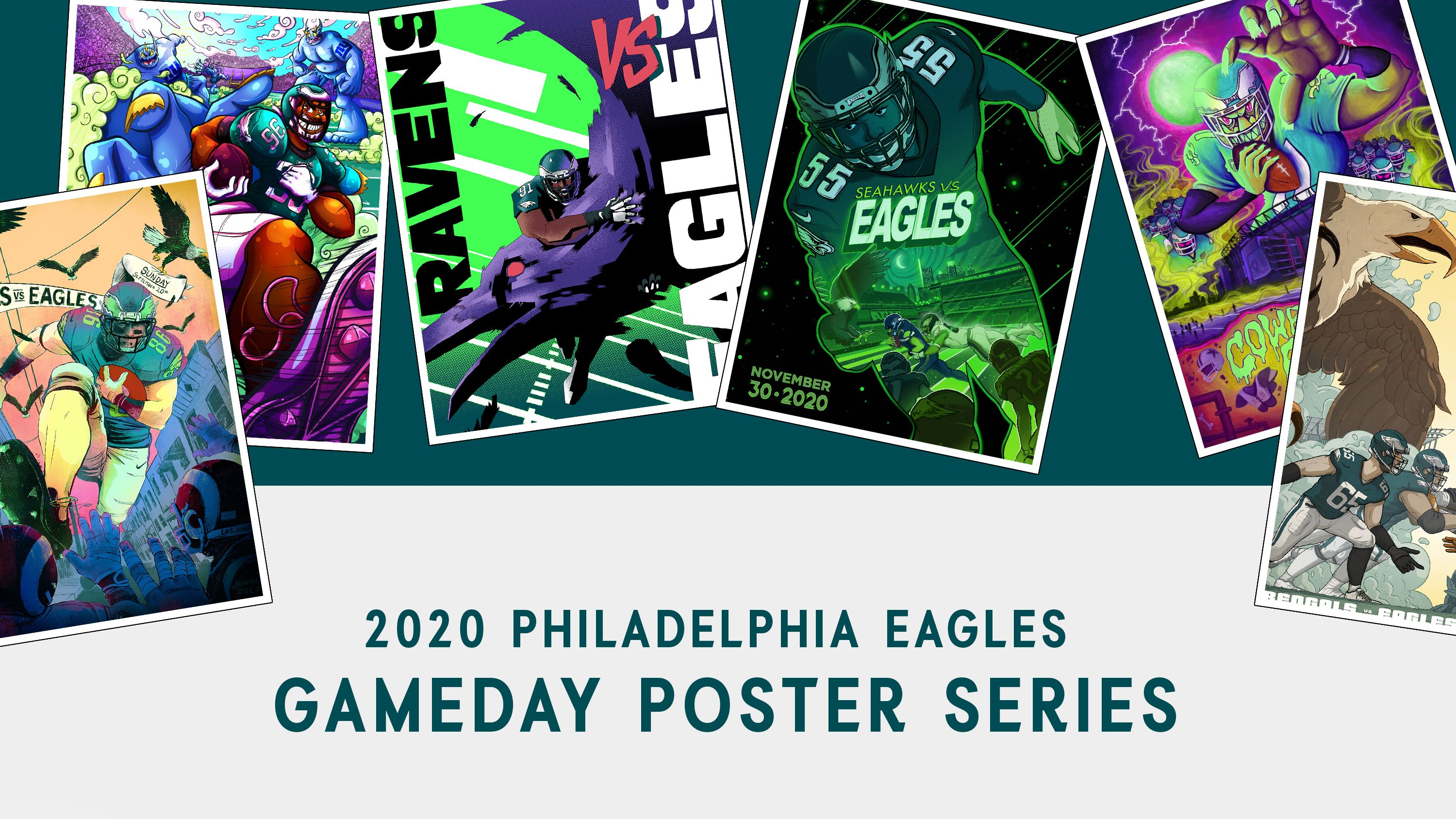 Eagles Gameday Poster Series