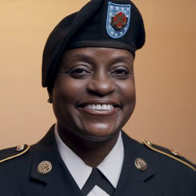 Master Sergeant, U.S. Army Terrez Anita Frames