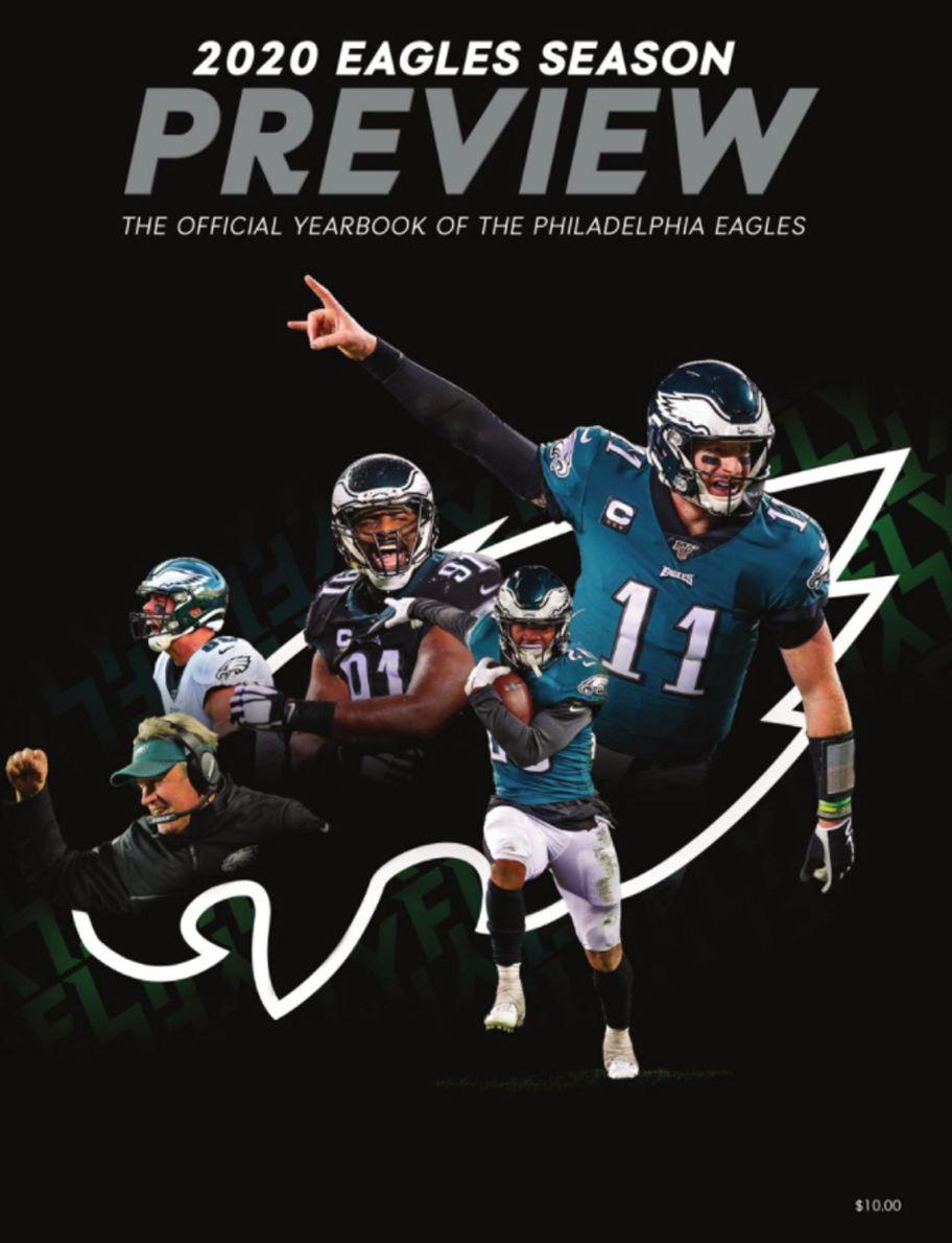 2020 Philadelphia Eagles Yearbook