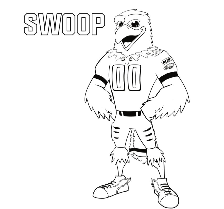 SWOOP Coloring Page
