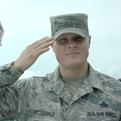 Sr. Master Sergeant Stephen Fitzgerald