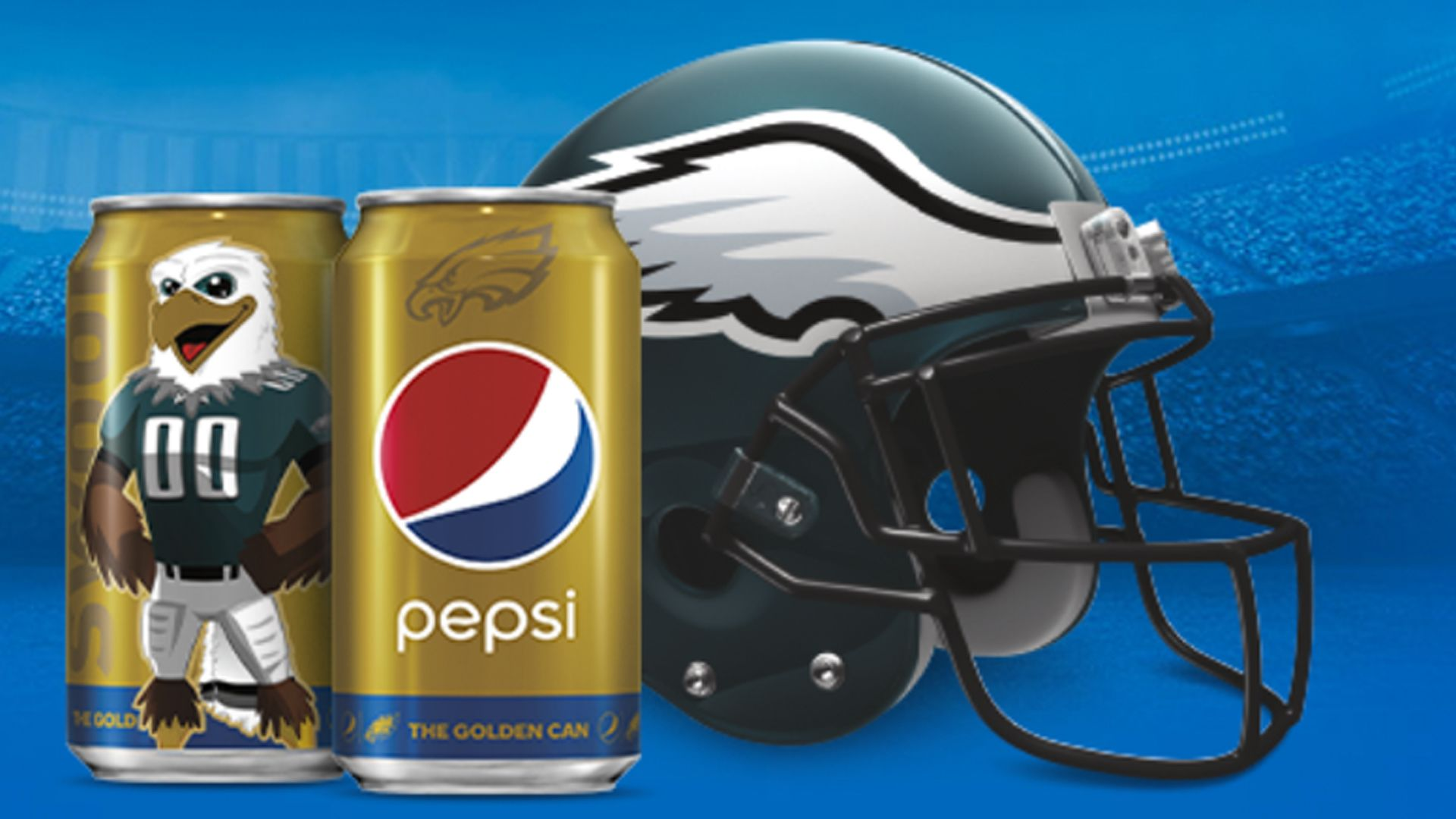 Pepsi Golden Can