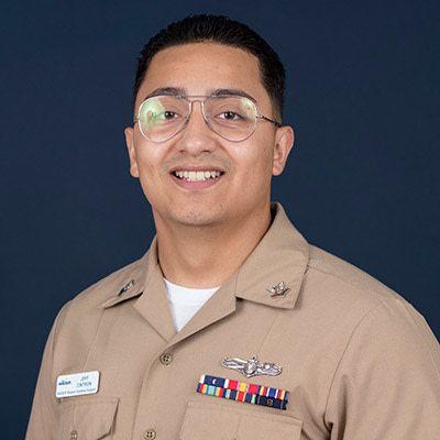 Information Systems Technician Second Class Jeffrey Cintron Jr.