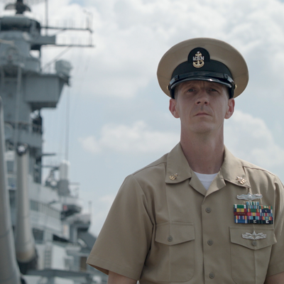 Senior Chief Petty Officer Josh Lesoken