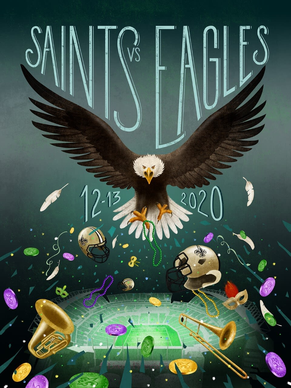 Week 14: Saints vs. Eagles