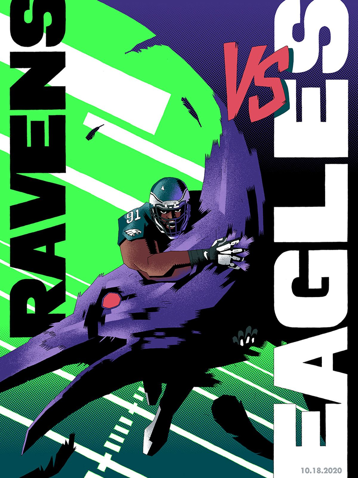 Week 6: Ravens vs. Eagles