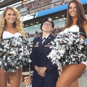 Airman First Class Jessica Simpson