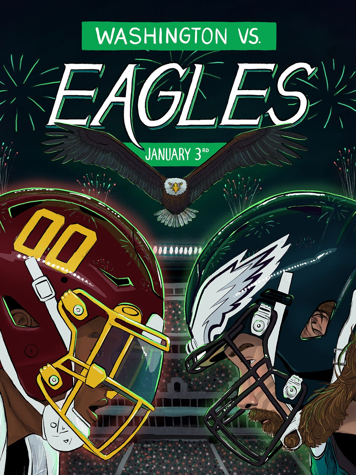 Week 17: Washington vs. Eagles