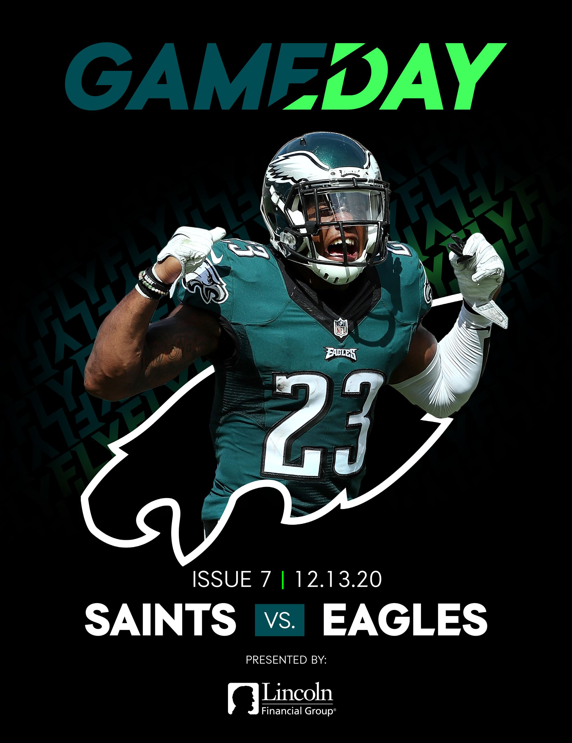 Saints vs. Eagles