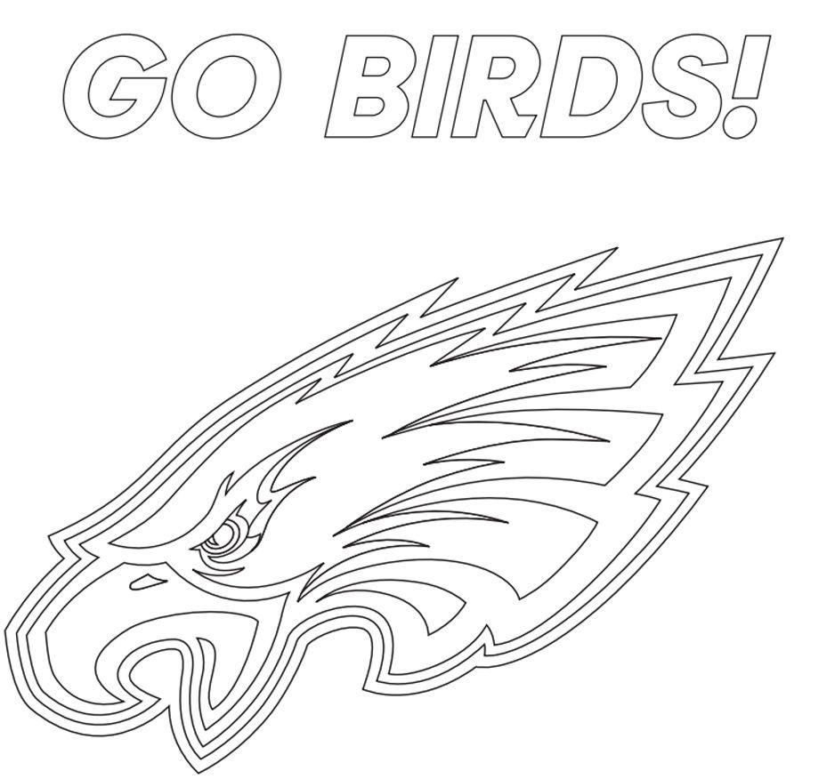 Go Birds! Coloring Page