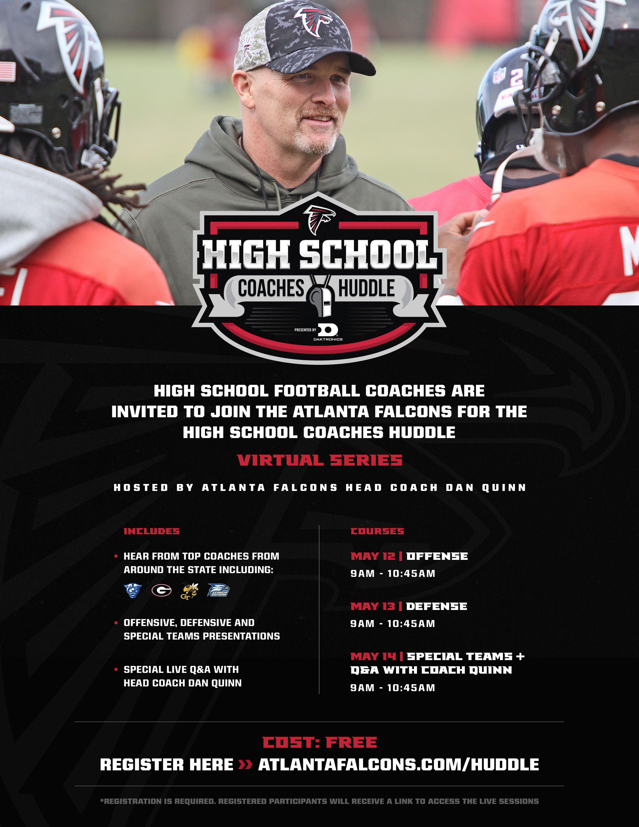 High School Coaches Huddle presented by Daktronics