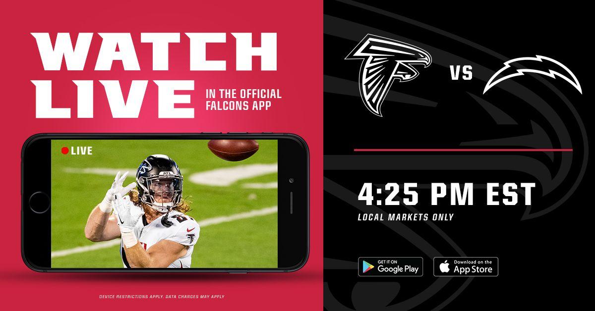 Falcons Gameday Ways To Watch Listen Atlanta Falcons Atlantafalcons Com