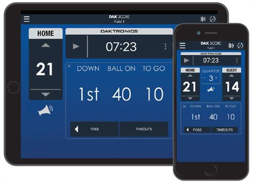 Control Your Scoreboard From Your Phone or Tablet