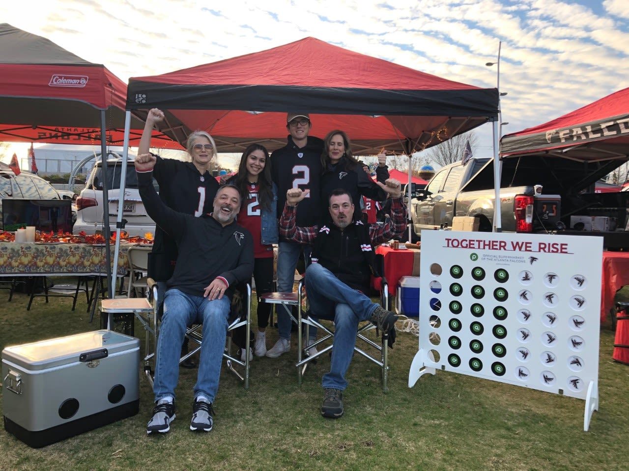 11.28.19 - Publix Tailgater of the Game: Chris Carteett and Family