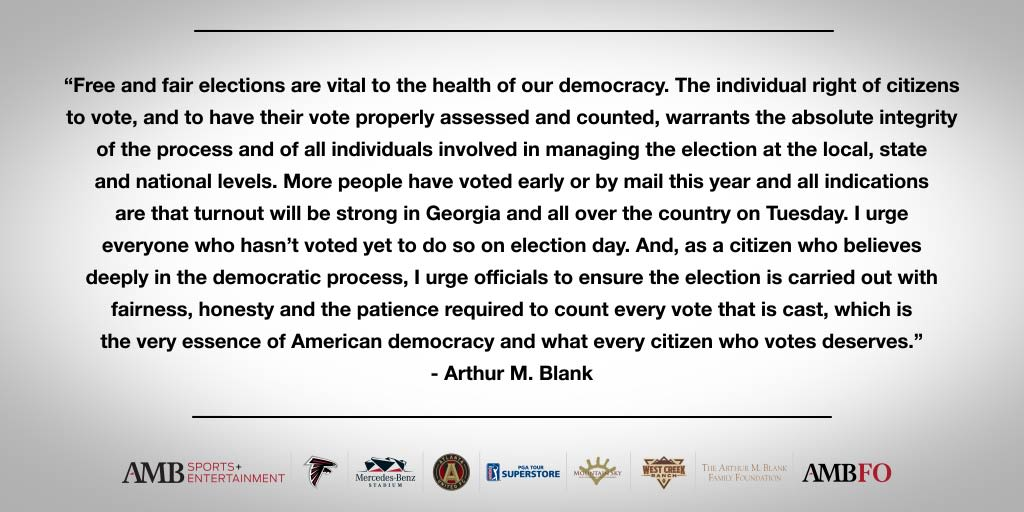 Statement on Elections (Twitter)[1]