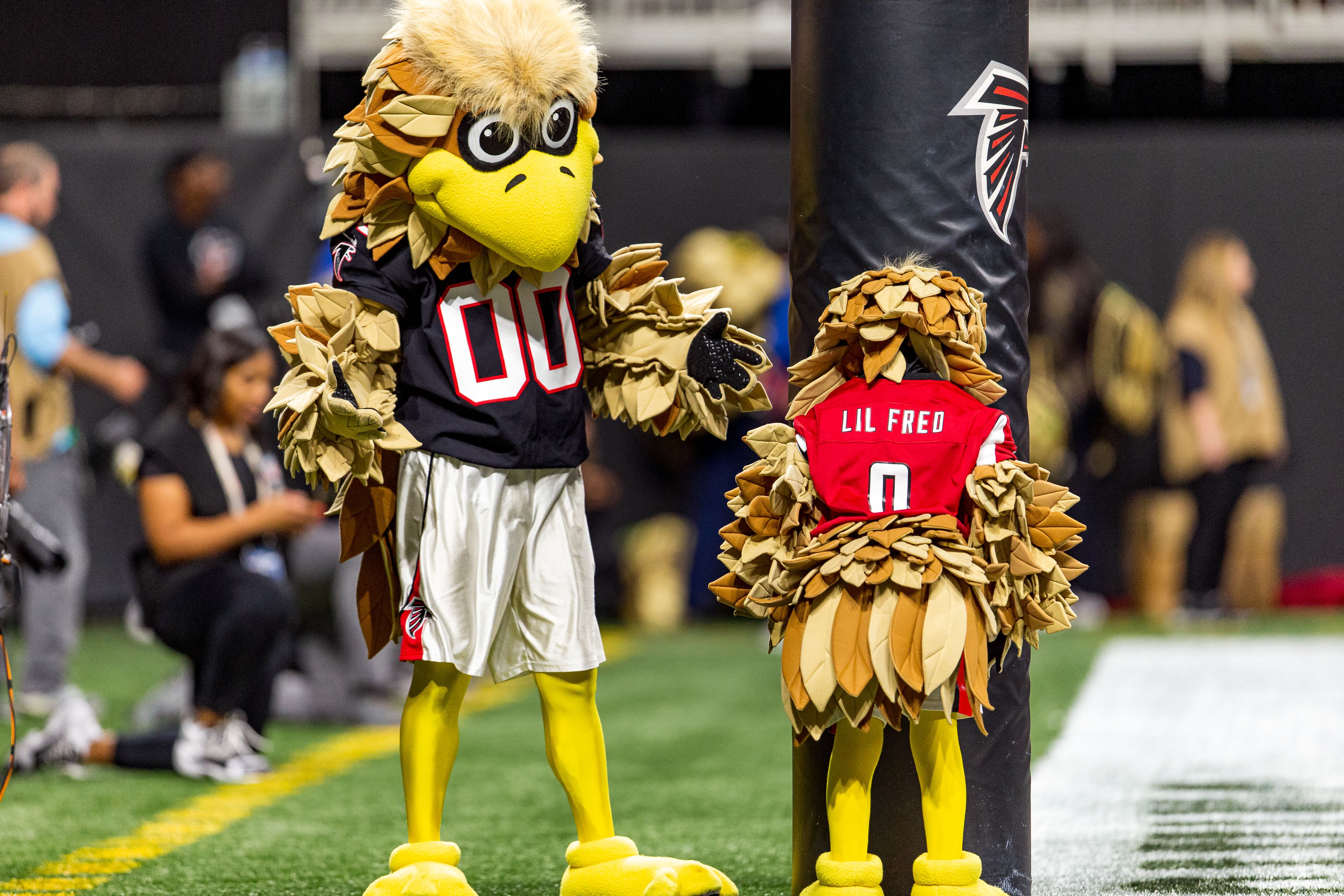Introducing LIL' FRED – Freddie Falcon's pint-sized protégé!