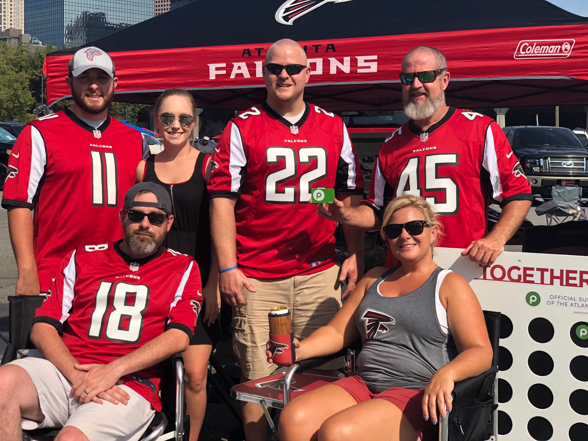 9.15.19 - Publix Tailgater of the Game: Kevin Coninger and Becky Dabbs