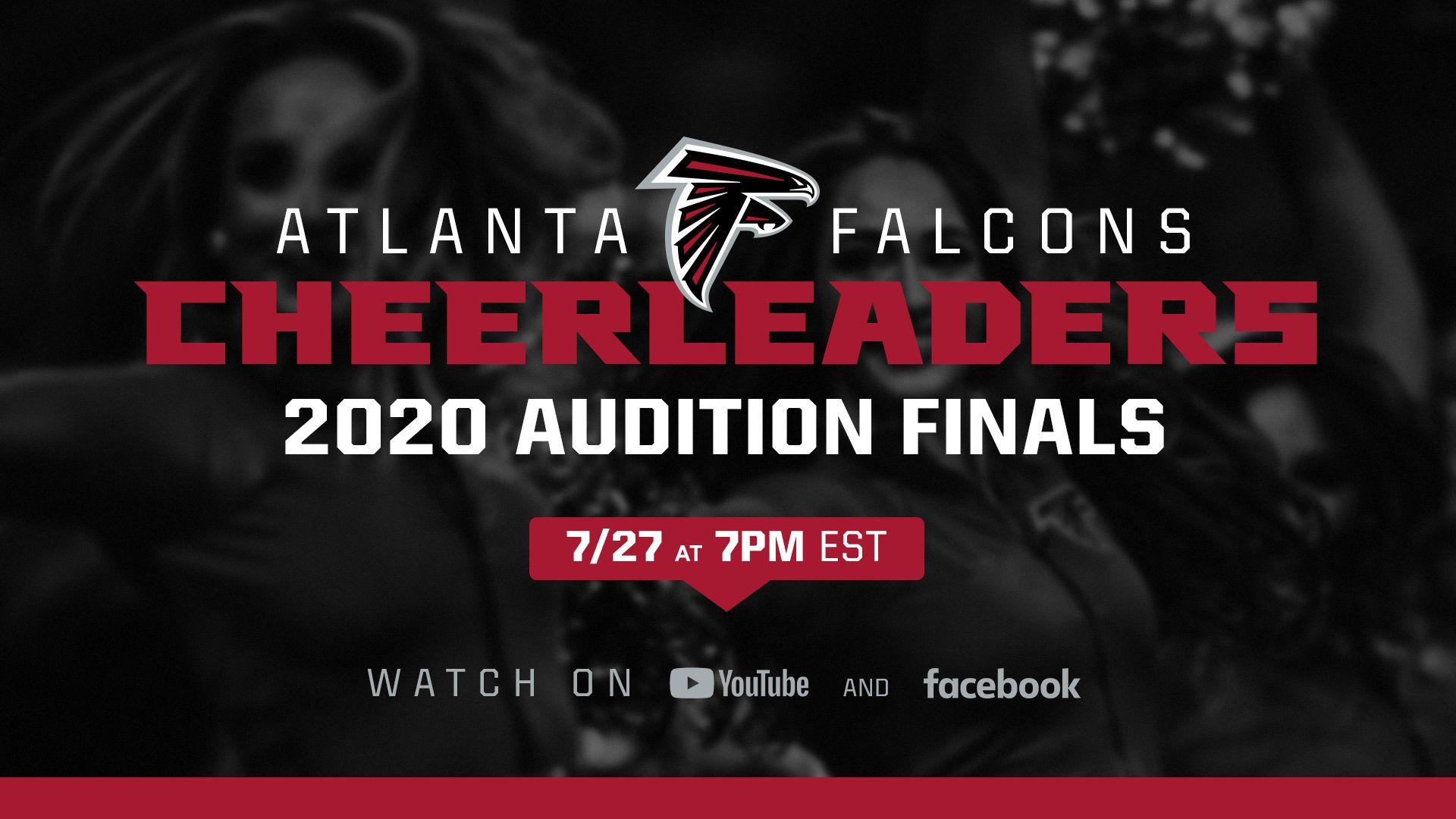 Atlanta Falcons Cheerleaders 2020 Audition Finals