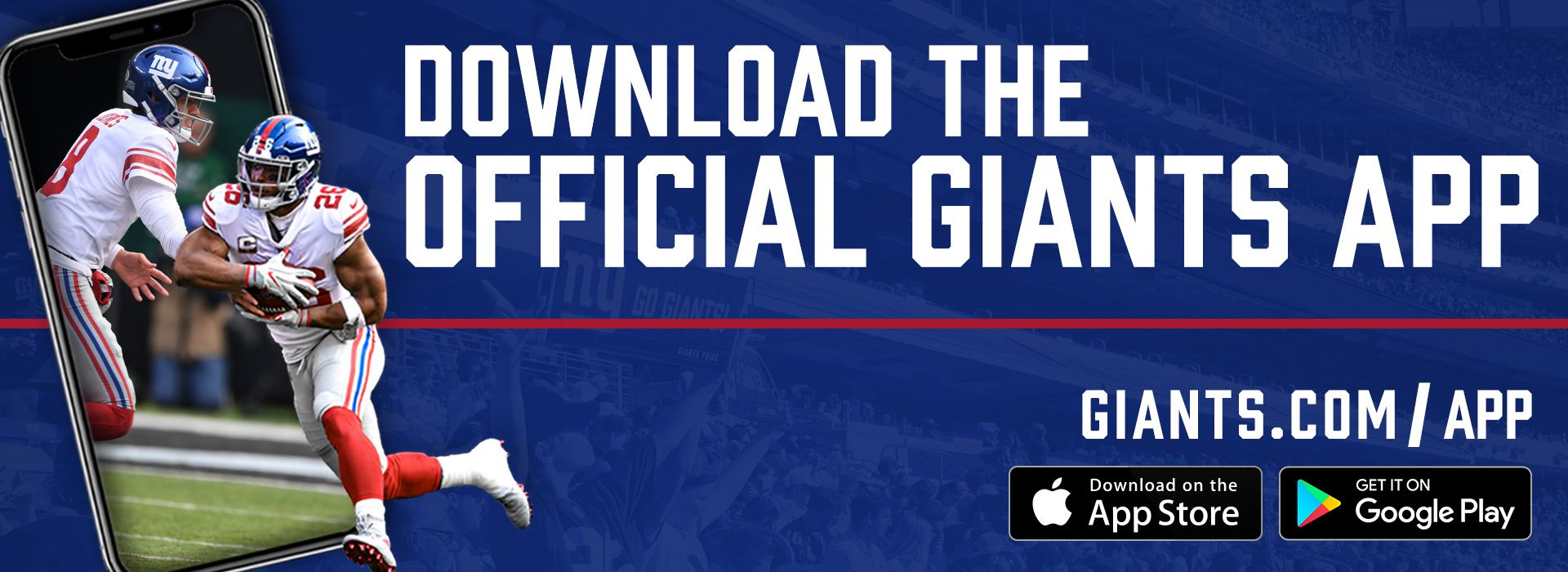 Download the Official Giants App