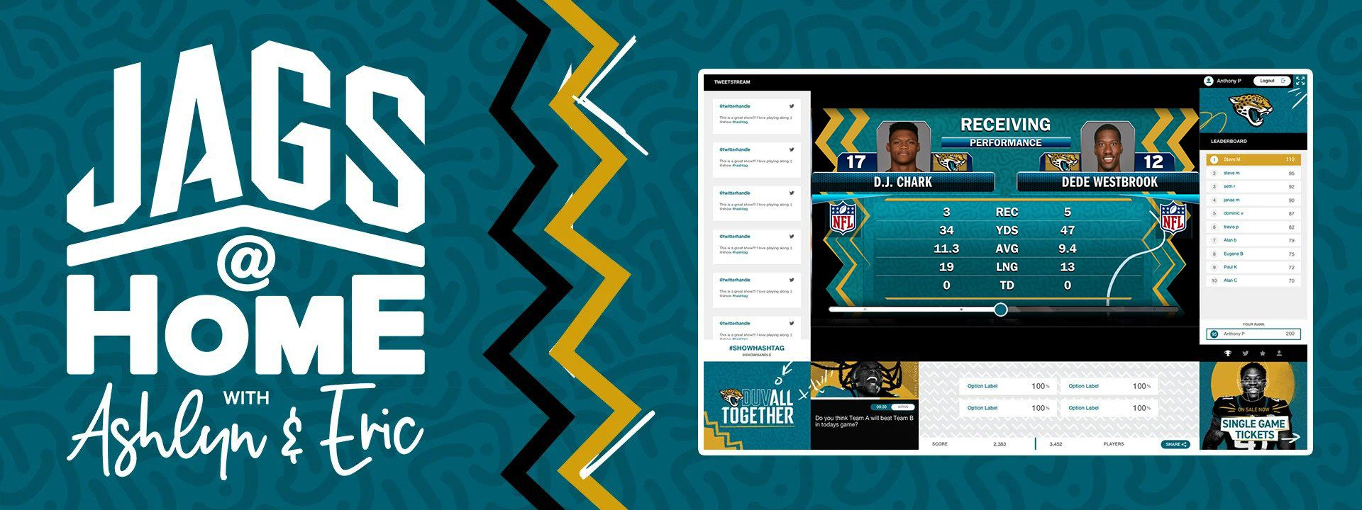 You've got 10,000 reasons to bring the Jaguars home this season.
