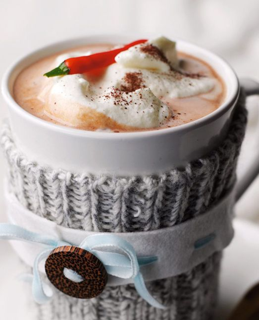 Red Chile Pepper Hot Chocolate (for 2)