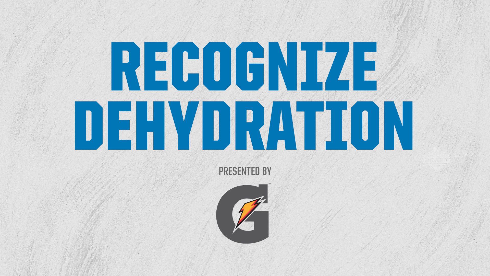 recognize-dehydration
