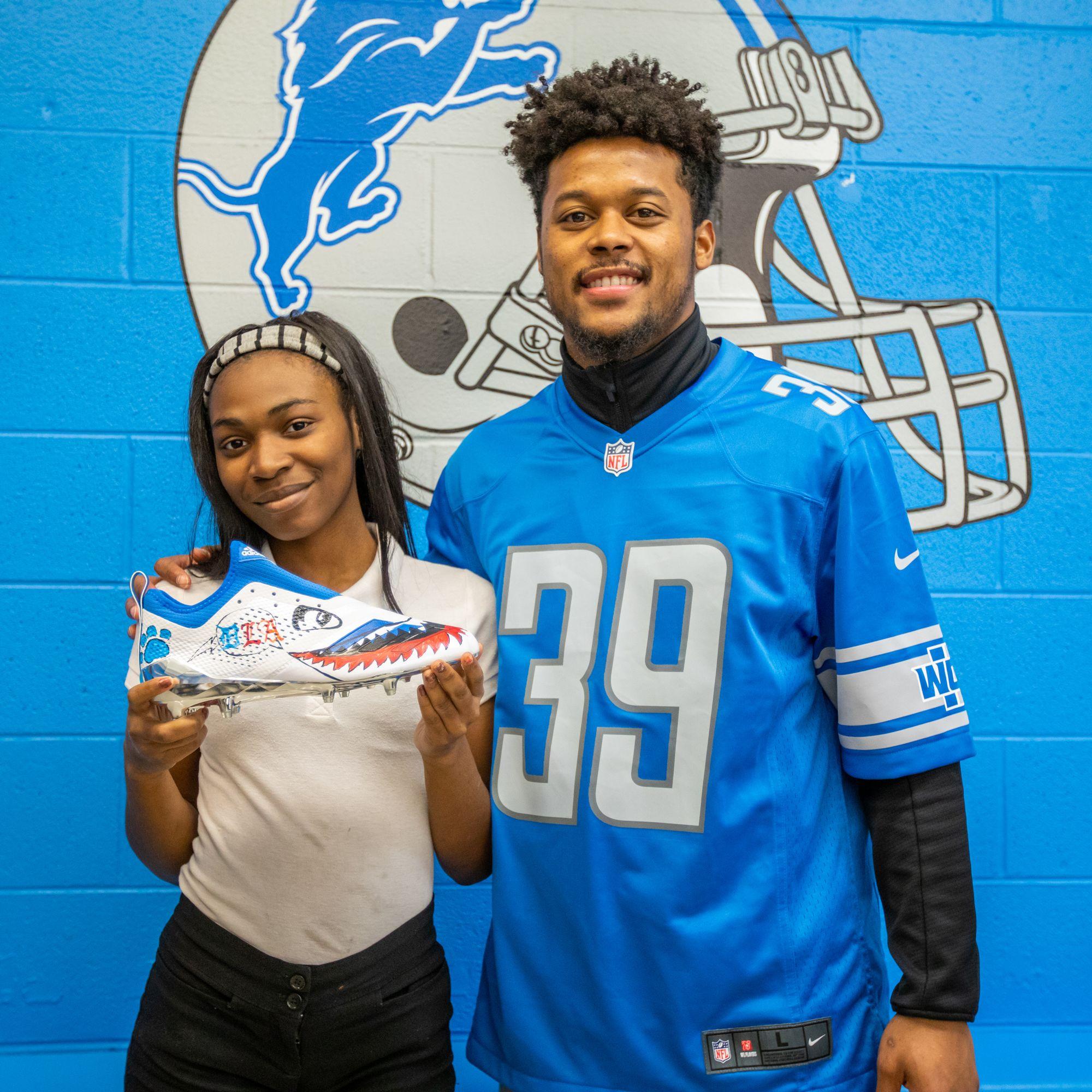 Detroit Lions Academy Support