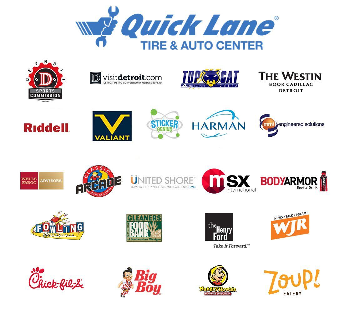 Detroit Lions Quick Lane Bowl Sponsors Detroit Lions