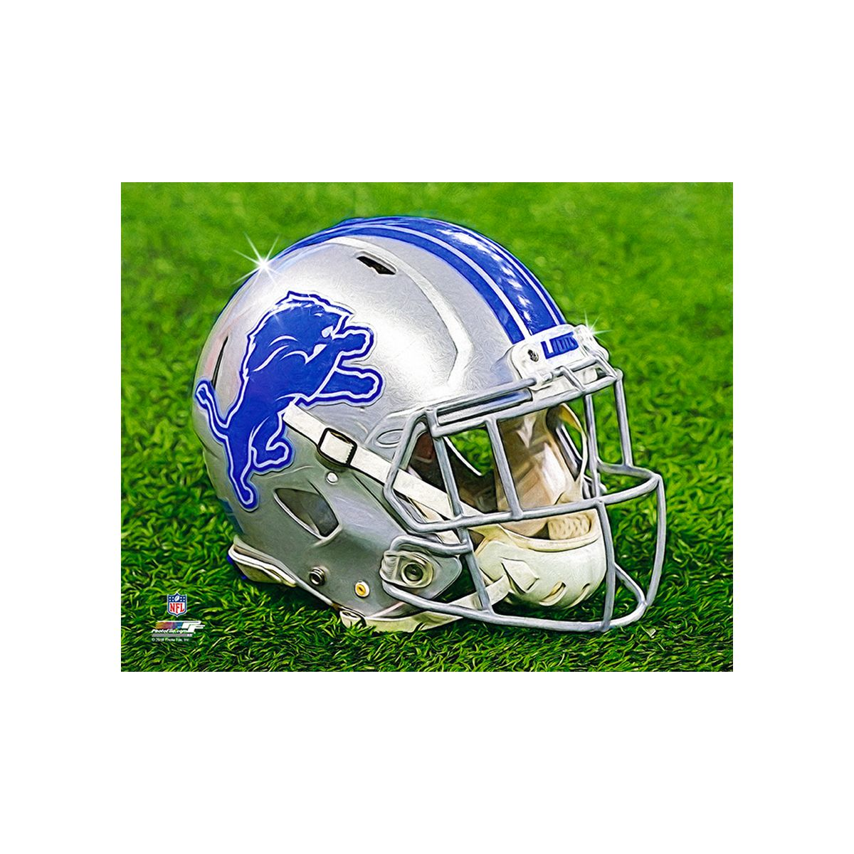 Canvas Art - Helmet in Grass - $89.00