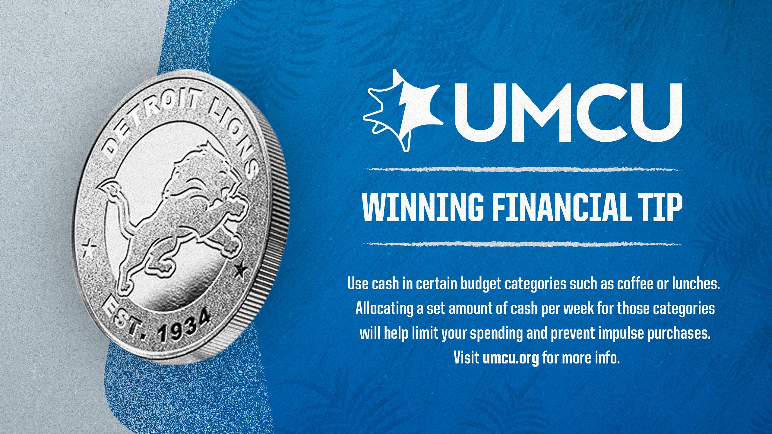 Week 1 - UMCU Financial Tip