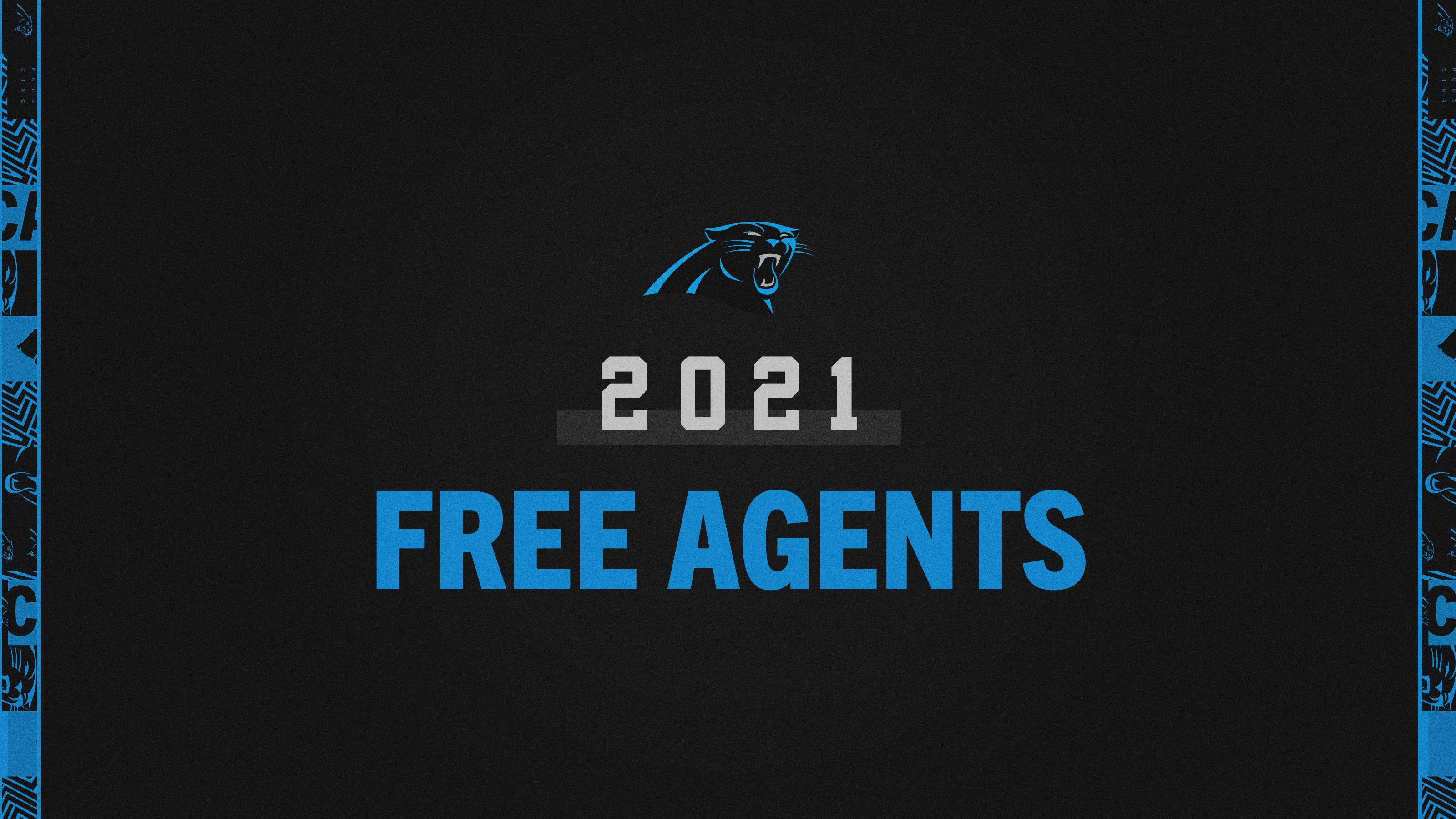 List of 2021 Panthers Free Agents