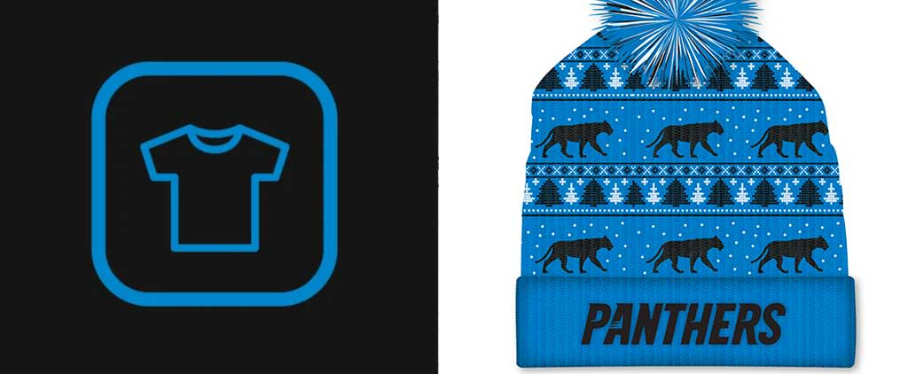 Exclusive Panthers Items