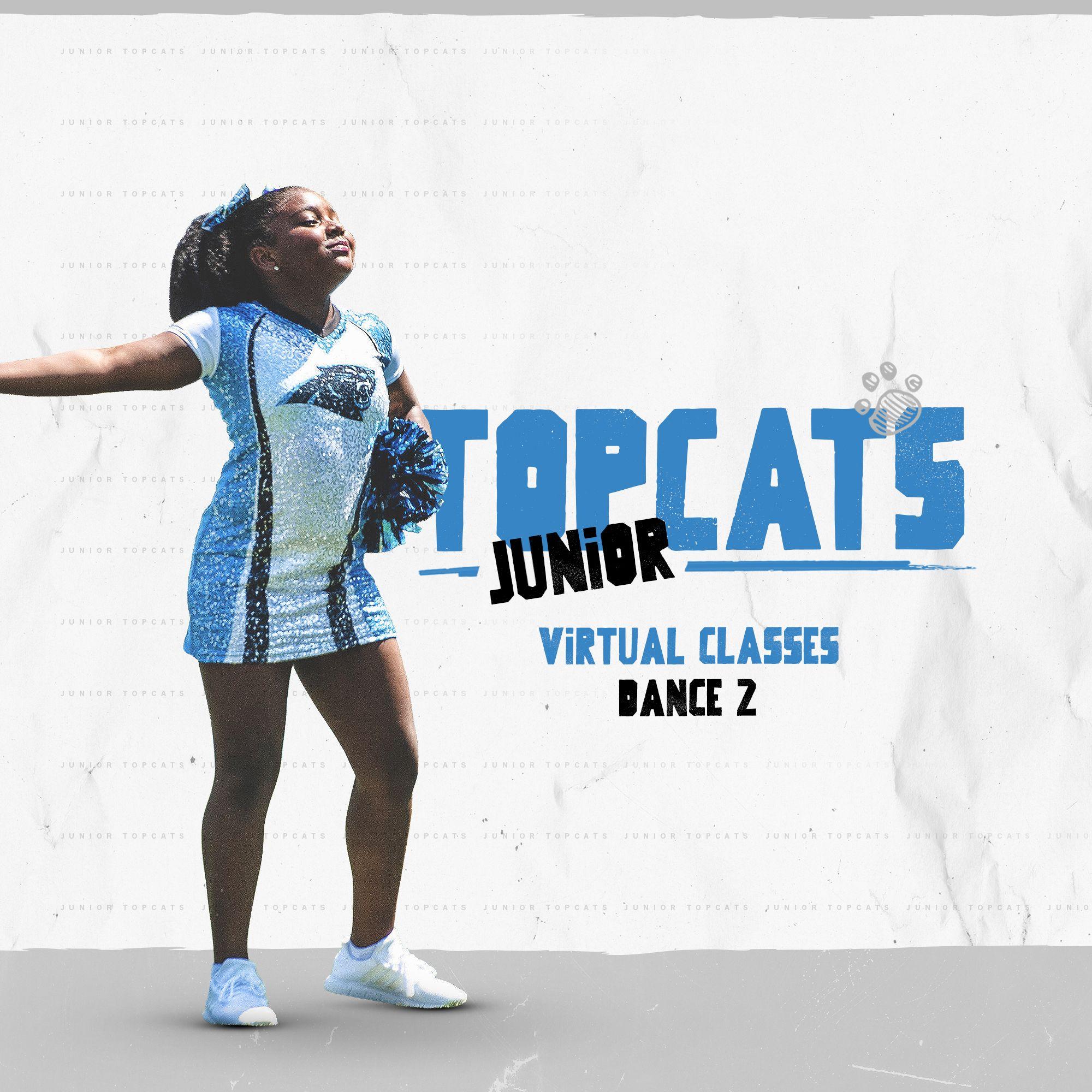 Junior TopCats Virtual Classes Dance 2