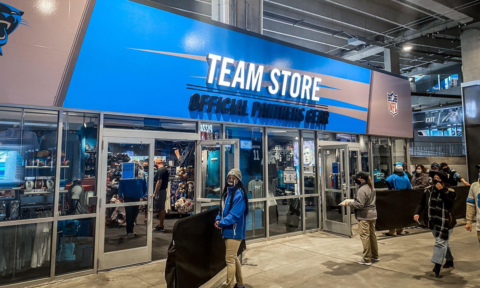 Team Store at Bank of America Stadium