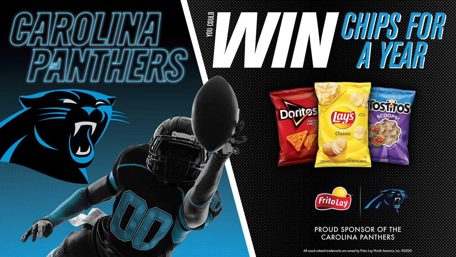 Frito-Lay Win Chips for a Year