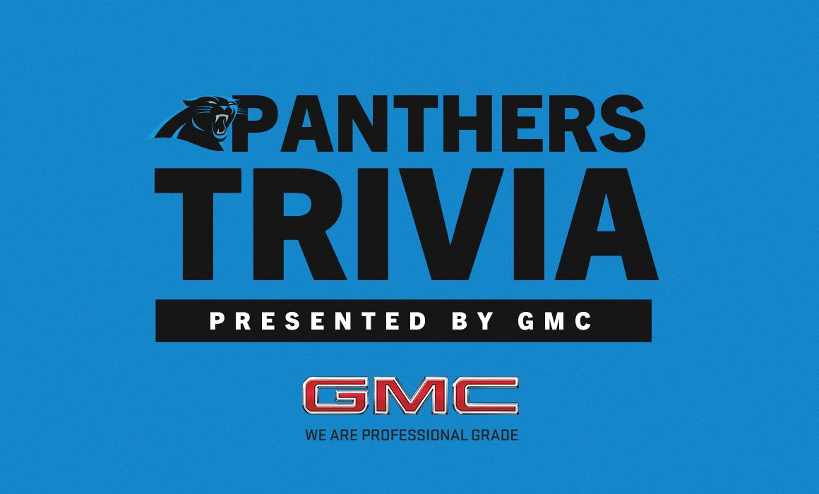 Panthers Trivia, presented by GMC