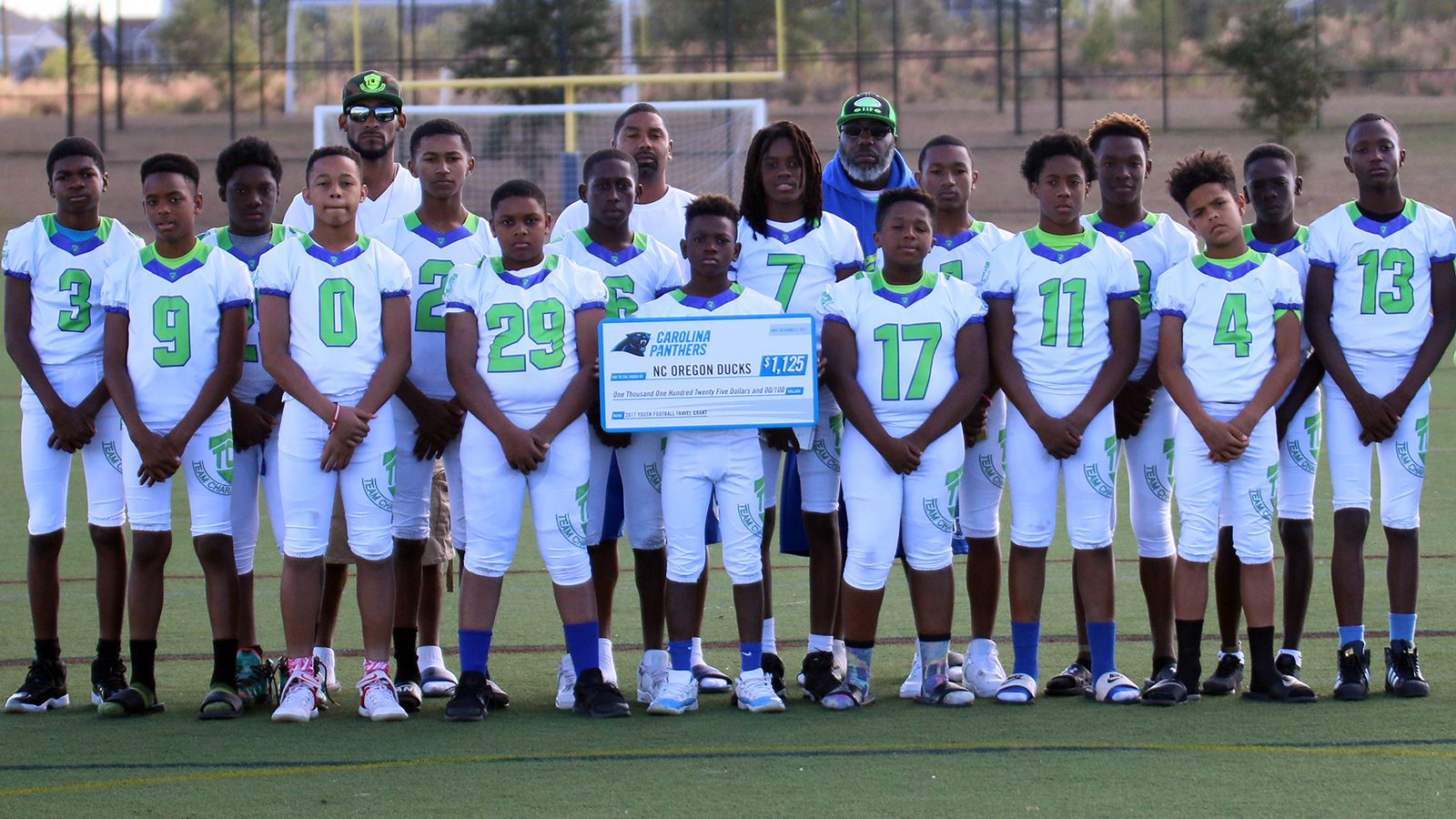 Youth Football Travel Grant