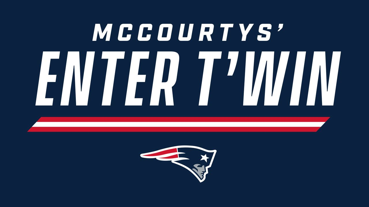 Win a football signed by the McCourty Twins