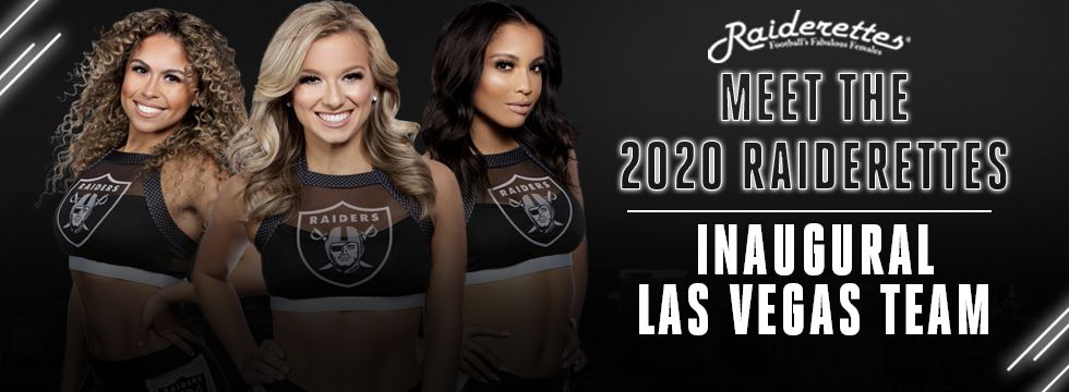 2020 Raiderettes Team
