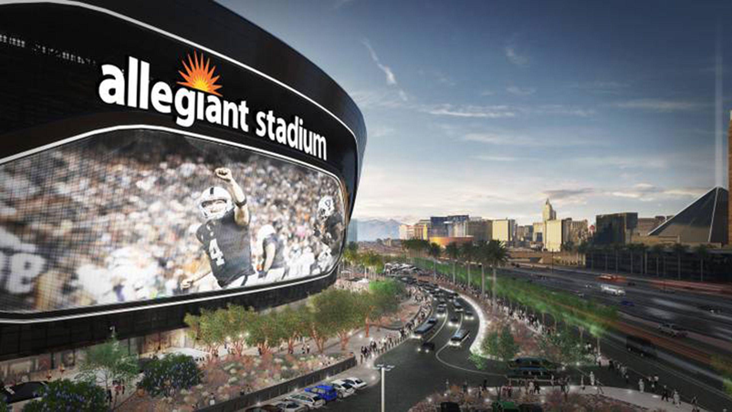 Visit Allegiant Stadium