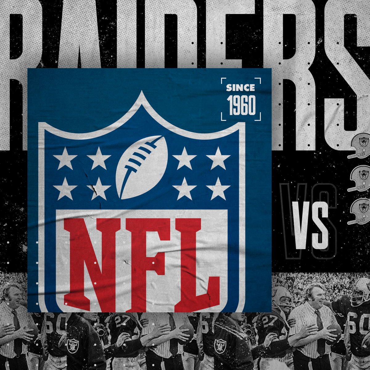 Raiders vs. NFL