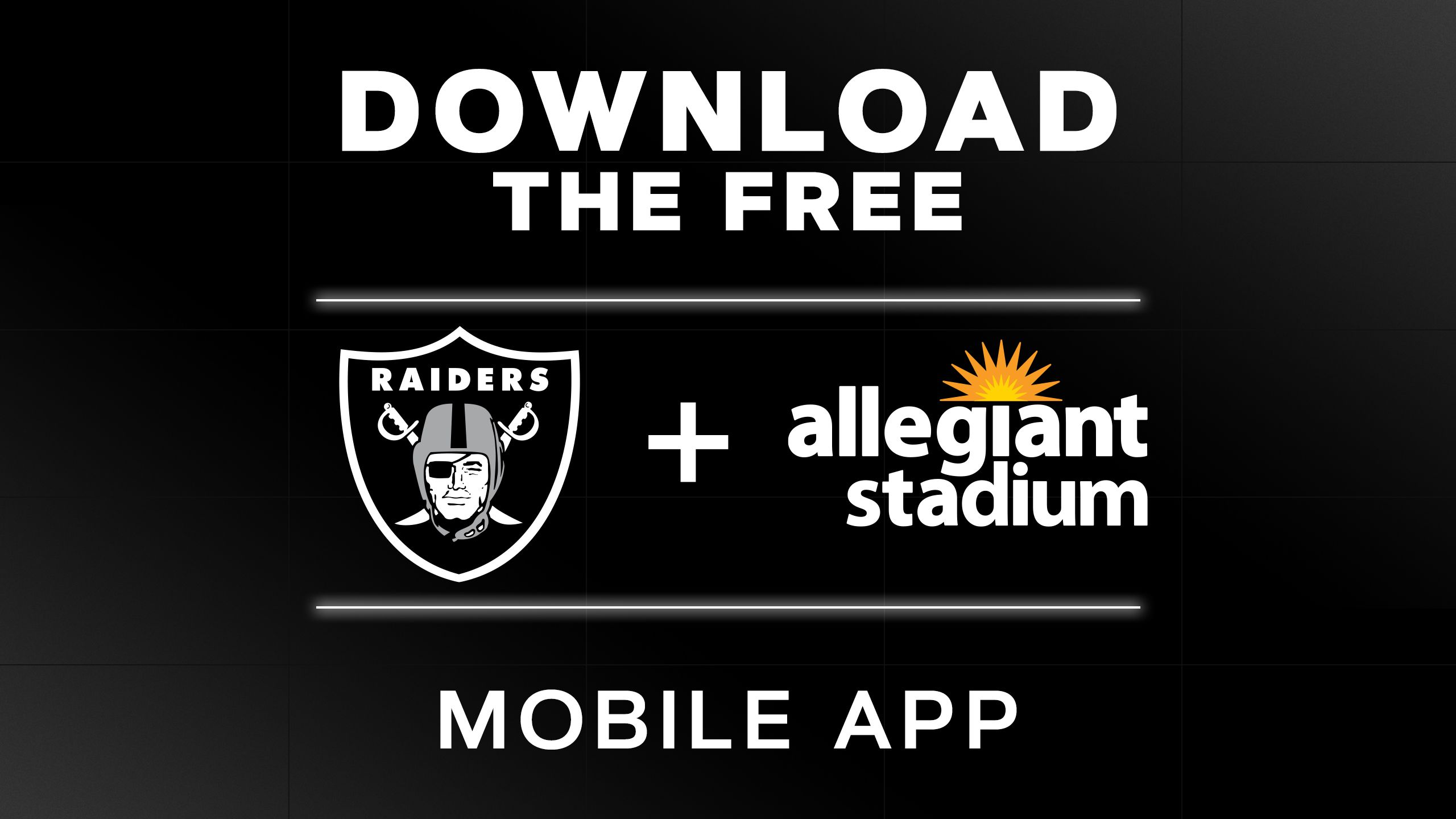 Raiders + Allegiant Stadium App