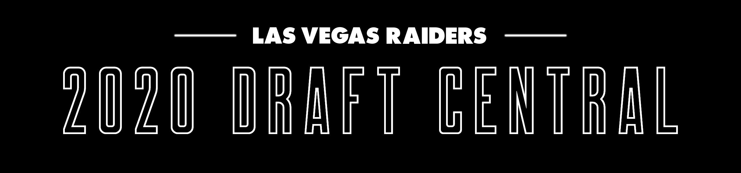 2020 Las Vegas Raiders Draft Central Raiders Com
