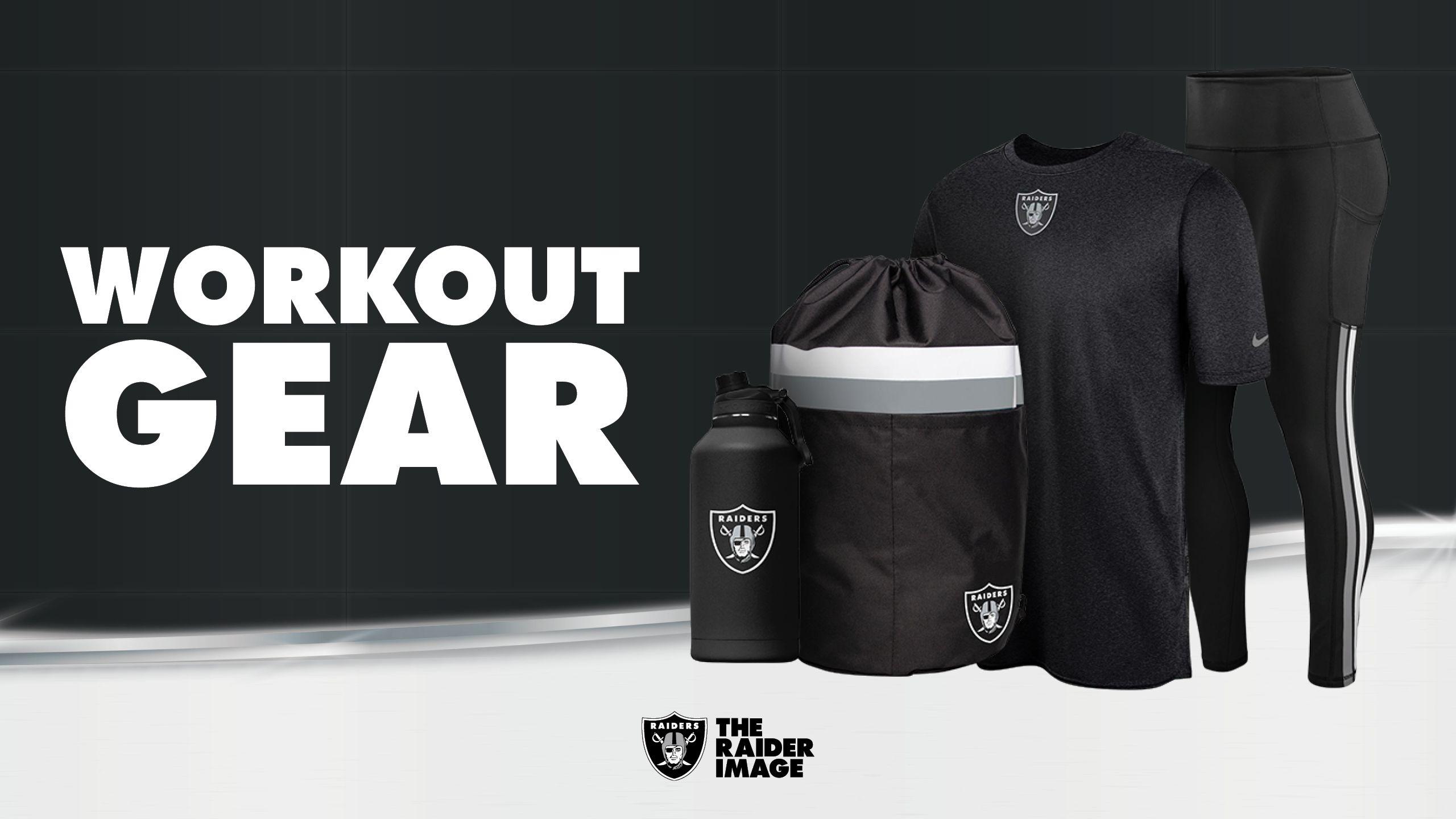 Raiders Workout Gear