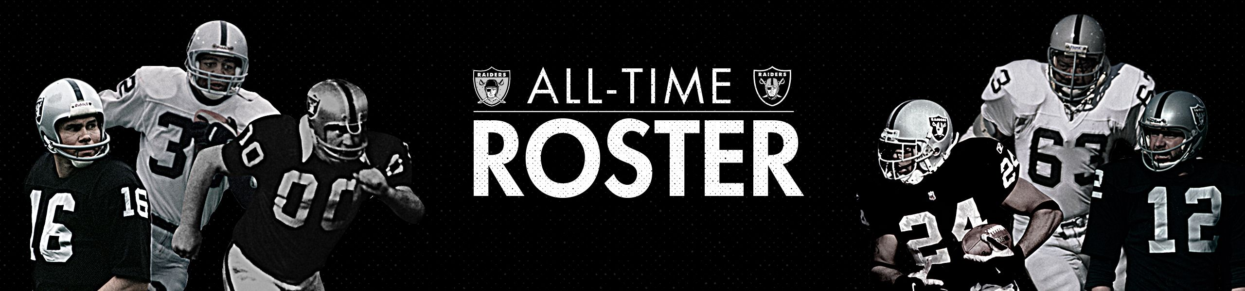 Learn more about the Raiders All-Time Roster