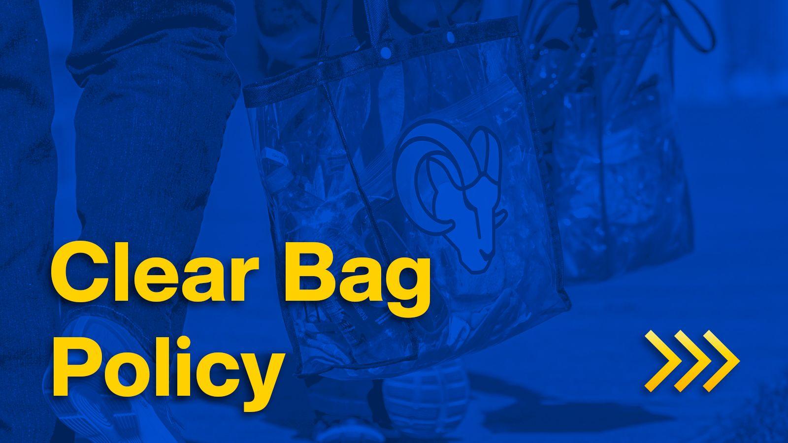 gameday-clear bag